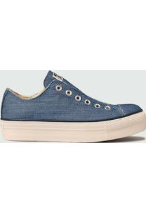 Tênis Feminino Jeans Flatform Chuck Taylor All Star Converse Ct09610001