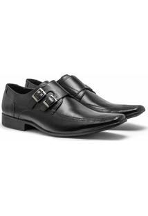 Sapato Social Johnny Brands Masculino - Masculino-Preto