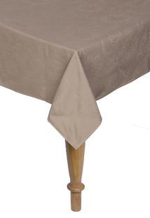 Toalha De Mesa Retangular Karsten Celebration Sienna 160X220Cm