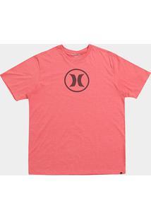 Camiseta Hurley Plus Size Circle Incon Masculina - Masculino