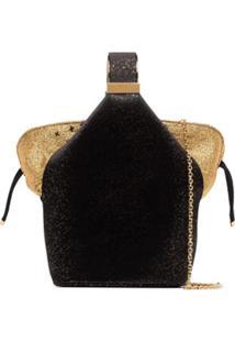 Bienen Davis Bolsa Bucket Kit Com Brilho - Preto