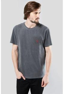 Camiseta Reserva Bolso Brasa Pica-Pau Bordado Masculina - Masculino