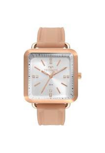 Relógio Technos Feminino Style Rose Analógico 2036Mmf2J