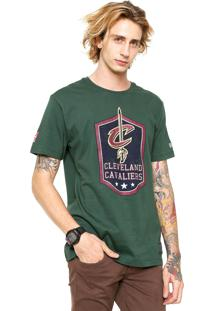 Camiseta New Era Cleveland Cavaliers Verde