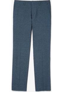 Calça Lacoste Slim Fit Masculina - Masculino-Azul