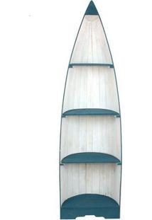 Estante Barco Em Madeira Bali 200Cm