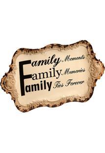 Quadro Decorativo De Parede Family