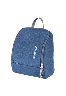 Nécessaire Travel Kit M Curtlo Preto Azul