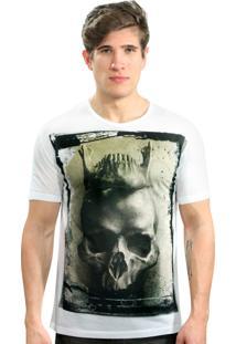 Camiseta Klauk Mandíbula Branco