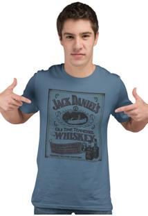 Camiseta Artseries Old Time Tenessee Whiskey Azul