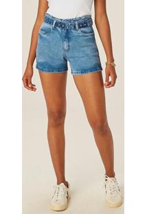 Bermuda Azul Claro Boyfriend Jeans