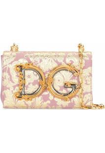 Dolce & Gabbana Bolsa Tiracolo Dg Girls - Rosa