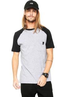 Camiseta New Era Youth Bolso Cinza