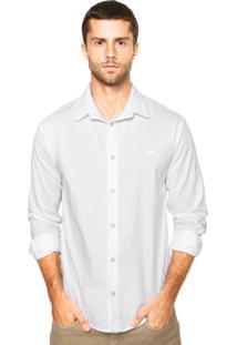 Camisa Triton Bordado Branca