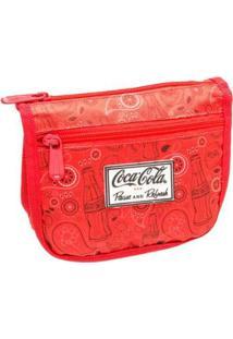 Necessarie Coca-Cola Paisley - Unissex-Vermelho