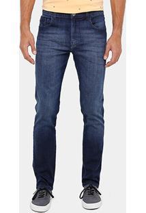 Calça Jeans Slim Fit Ellus High Confort Masculina - Masculino