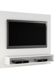 Painel Para Tv Até 47 Polegadas Níquel Jcm Móveis Branco