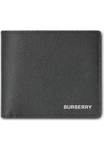 Burberry Porta-Moedas De Couro Granulado - Preto