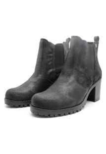 Bota Barth Shoes Bury Resina - Preto