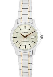 8162c110efe ... Relógio Feminino Casio Ltp V004Sg 9Audf - Unissex-Prata