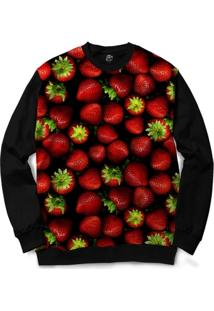 Blusa Bsc Strawberry Full Print - Masculino