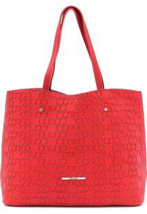 Bolsa Colcci Textura Vermelha