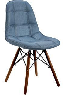 Cadeira Em Mdf/Mdp 1114-Or Design - Azul / Escuro
