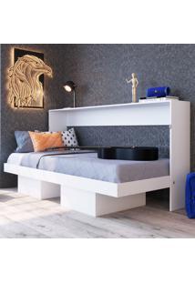 Cama De Solteiro Latino Articulável Ch2090 Branco - Art In Móveis