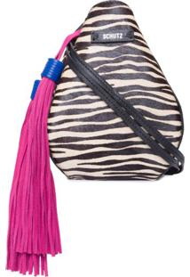 Bolsa Handle Paula Schutz - Animal Print