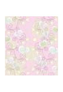 Papel De Parede Autocolante Rolo 0,58 X 3M - Floral 210133