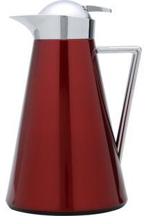 Garrafa Térmica Wolff London 1 Litro Metal Vermelha