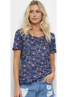 Camiseta Cantão Banhistas Feminina - Feminino