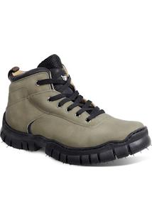Bota Adventure Masculina Sandro Moscoloni Full Ride Verde Outlet
