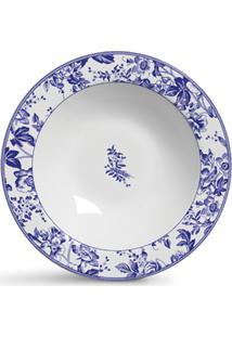 Conjunto De Pratos Cerâmica Fundos Blue Garden 6Pcs Cj1 - Kanui