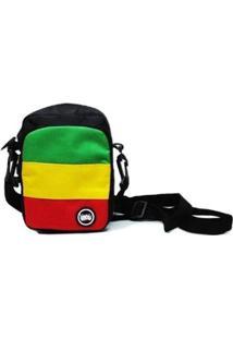 Bolsa Chronic Shoulder Bag - Unissex-Preto+Vermelho