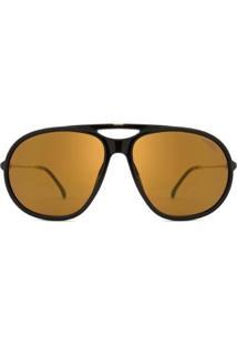 Óculos De Sol Carrera Ca Masculino - Masculino-Preto