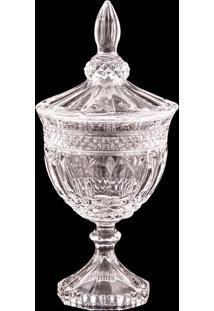 Bomboniere Decorativa De Cristal Loen