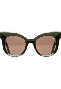 Óculos Feminino Acetato Lilas - Militar