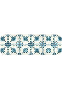 Passadeira Love Decor Wevans Ladrilhos Lisboa Azul - Kanui