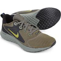 Tênis Nike Legend React Masculino - Masculino-Cinza+Verde 955391237b0af