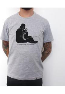 O Crime Não Compensa - Camiseta Clássica Masculina