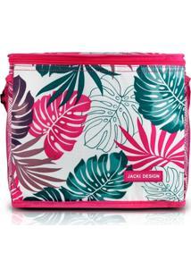Bolsa Térmica Grande Jacki Design Praia Piquenique Pink . - Kanui