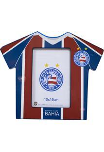 Porta Retrato Minas De Presentes Camisa Futebol Foto 10X15Cm - Bahia Colorido