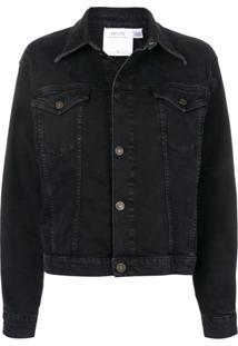 Calvin Klein Jeans Est. 1978 Classic Denim Jacket - Preto