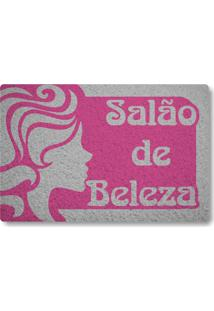 Tapete Capacho Salao De Beleza - Rosa Pink