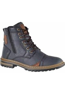 Bota Adaption Masculina - Masculino-Azul