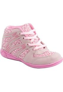 Sneaker Pam Plim For Girl - Feminino-Rosa