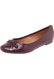 Sapatilha Dafiti Shoes Matelassê Vinho