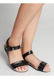 Sandália Rasteira Conforto Modare Velcro