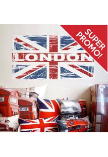 Adesivo De Parede Bandeira Londres